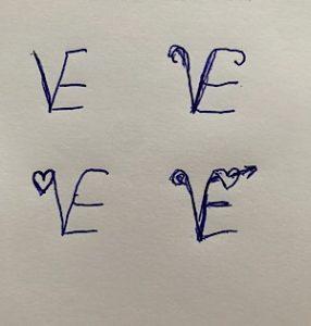 Logo Entwürfe Love Alizee Korte