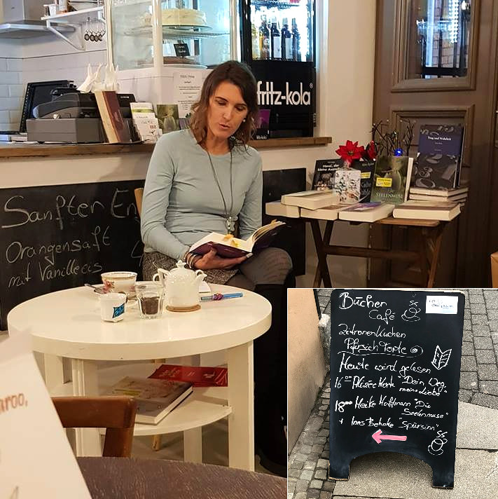 Alizée Korte - Lesung in Halle (Saale)