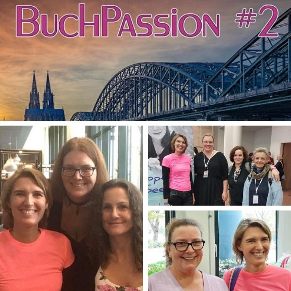 Fotos von Alizée Korte mit Bloggerinnen auf der Buchpassion