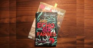 """Das Hardcover """"Das Echo der Farben"""" auf der Juni-Ausgabe von """"Der Selfpublisher"""""""