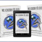 """Cover des Bandes """"Humor und Belletristik"""" der Anthologie """"Wir schreiben für euch"""" zugunsten der Flutopfer 2021"""